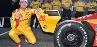 GP Sonoma: Pole de Hunter-Reay; Dixon saldrá segundo y Rossi, sexto