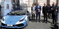 La policía italiana recibe un nuevo Lamborghini Huracán - SoyMotor.com