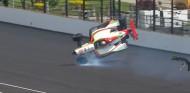 Aparatoso accidente sin consecuencias de Pato O'Ward en Indianápolis – SoyMotor.com