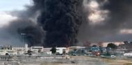 Incendio en una planta química a escasos kilómetros de Montmeló - SoyMotor.com