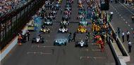 Parrilla de salida de las 500 millas de Indianápolis 2014 - SoyMotor.com