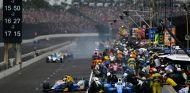 Parada de Alexander Rossi durante las 500 Millas de Indianápolis - SoyMotor.com