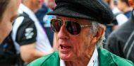 Jackie Stewart durante el pasado GP de Gran Bretaña - SoyMotor.com