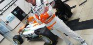 James Rossiter con los colores de Force India