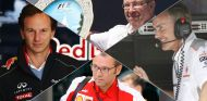 Christian Horner, Ross Brawn, Stefano Domenicali y Martin Whitmarsh - LaF1