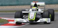 Jenson Button a los mandos de su Brawn GP - LaF1
