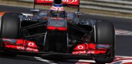 Jenson Button en el McLaren MP4-28
