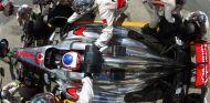 Pit stop de Jenson Button en el GP de Canadá 2013