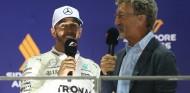 Lewis Hamilton y Eddie Jordan en una imagen de archivo - SoyMotor.com