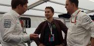 Lorenzo ha visto la F1 más de una vez desde el box de Mercedes - LaF1