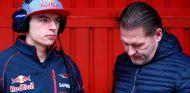 Max Verstappen junto a su padre, Jos Verstappen - Laf1.es