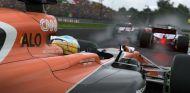 Fernando Alonso en un fotograma del videojuego F1 2017 - SoyMotor.com