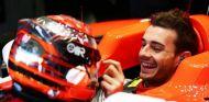Jules Bianchi subido en el Marussia - LaF1