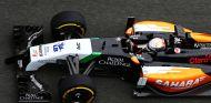 Dani Juncadella a los mandos del Force India VJM07
