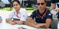Monisha Kaltenborn y Pascal Wehrlein en Australia - SoyMotor.com
