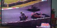 Pelea a puñetazos en una carrera de karts en Brasil - SoyMotor
