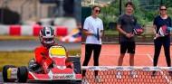 Leclerc, karting y pádel para preparar el regreso de la Fórmula 1 - SoyMotor.com