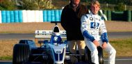 Keke y Nico Rosberg en Jerez - SoyMotor.com