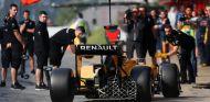 Magnussen está probando el nuevo motor hoy en el Circuit de Barcelona-Catalunya - LaF1