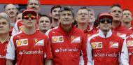 Kimi Raikkonen y Alonso la temporada pasada en Ferrari - LaF1.es