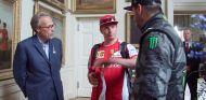 Las muecas de Räikkönen al hablar de su temporada con Ferrari