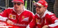 Räikkönen y Vettel seguirán juntos un año más en Ferrari - LaF1