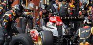 Pit stop de Kimi Räikkönen en Bélgica
