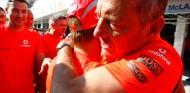 """Kovalainen y una posvictoria robotizada: """"McLaren te indicaba qué decir"""" - SoyMotor.com"""