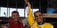 Tom Kristensen y Juan Pablo Montoya en la Race of Champions de Miami - SoyMotor.com