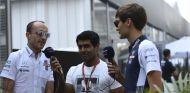 Robert Kubica, Karun Chandhok y George Russell - SoyMotor.com