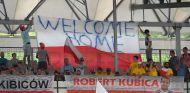 Aficionados de Robert Kubica en Hungaroring - SoyMotor.com