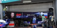 Garaje de Daniil Kvyat en Sepang - SoyMotor.com
