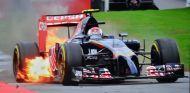 Daniil Kvyat, en llamas - LaF1