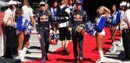 Daniil Kvyat y Brendon Hartley en Austin - SoyMotor.com