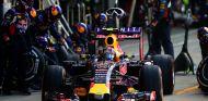 Daniil Kvyat haciendo un pit stop en Silverstone - LaF1