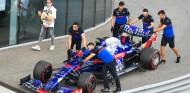 El coche de Daniil Kvyat en el GP de Rusia F1 2019 - SoyMotor.com