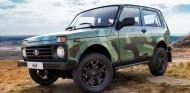 Lada Niva 4x4: nueva decoración con patrón de camuflaje  - SoyMotor.com