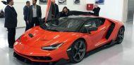 El primer Lamborghini Centenario es naranja y negro - SoyMotor.com