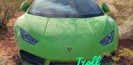 ¿Qué hace un Lamborghini Huracán abandonado en un desierto de Las Vegas? - SoyMotor.com