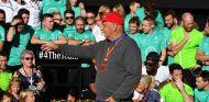 Niki Lauda en la celebración del Mundial de Mercedes en Austin - SoyMotor