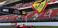 Sebastian Vettel en Montmeló - SoyMotor