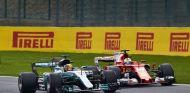 Hamilton y Vettel en Spa - SoyMotor.com