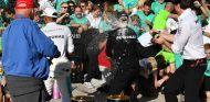 Niki Lauda, Lewis Hamilton, Valtteri Bottas y Toto Wolff en Austin - SoyMotor.com