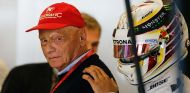Niki Lauda y Lewis Hamilton en el Circuito de las Américas - SoyMotor.com
