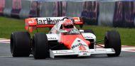 Niki Lauda durante una exhibición del pasado Gran Premio de Austria - LaF1