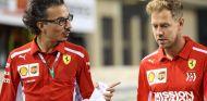 Laurent Mekies acompaña a Sebastian Vettel en Abu Dabi - SoyMotor