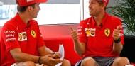 Charles Leclerc y Sebastian Vettel en el GP de Alemania F1 2019 - SoyMotor