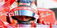 Charles Leclerc en el test postcarrera de Hungría 2017 - SoyMotor