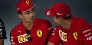 Charles Leclerc y Sebastian Vettel en el GP de Italia F1 2019 - SoyMotor.com