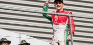 Leclerc durante el GP de Italia de Fórmula 2 - SoyMotor.com
